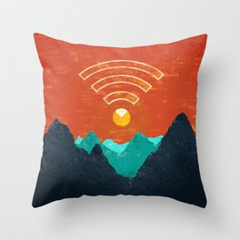 OUT OF OFFICE Throw Pillow