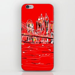 Brace yourselves she's from Brooklyn!! iPhone Skin