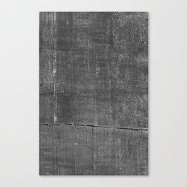 Dark Concrete Texture Print Canvas Print