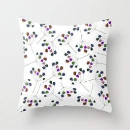 On the wind Throw Pillow