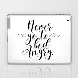 Inspirational Quote Bedroom Decor Modern Home Wall Decor Laptop & iPad Skin