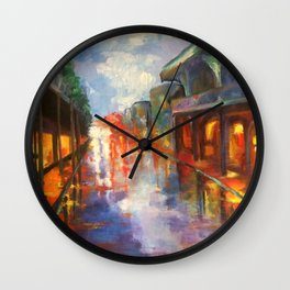 French Quarter Wall Clock