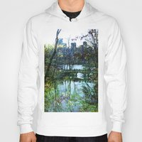 central park Hoodies featuring Central Park  by aLovelyNotion