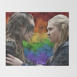 clexa Throw Blanket