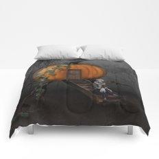 Halloween! Where is the rabbit? Comforters
