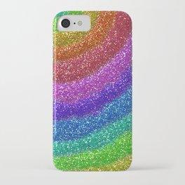 Rainbow Glitters iPhone Case