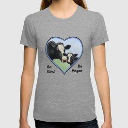 Holstein Cow and Calf Vegan T-shirt