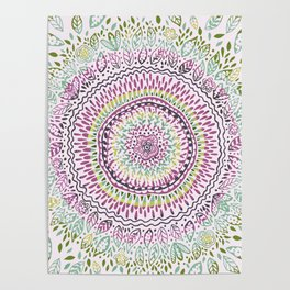 Intricate Spring Poster