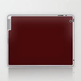 Simply Maroon Red Laptop & iPad Skin
