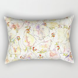 Chicks Rectangular Pillow