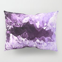 Amethyst Crystal Cave Pillow Sham
