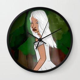 Jaci, The Moon Goddess Wall Clock