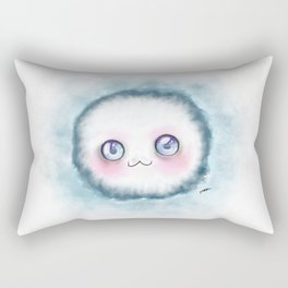 fluffy kawaii Rectangular Pillow