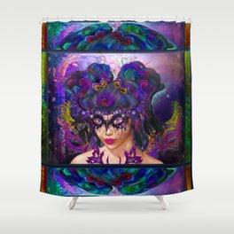 Faerie Masquerade Shower Curtain