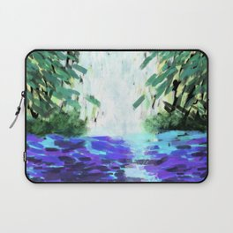 Waterfall in motion Laptop Sleeve