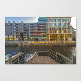 Colors of Tjuvholmen in Oslo, Norway Canvas Print