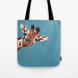 Sneaky Giraffe Tote Bag