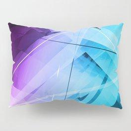 Reflections - Geometric Abstract Art Pillow Sham