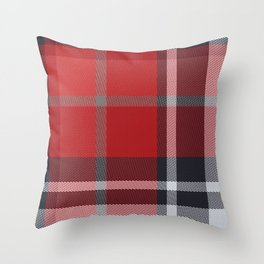 Colors Of Christmas (Plaid 4) Throw Pillow