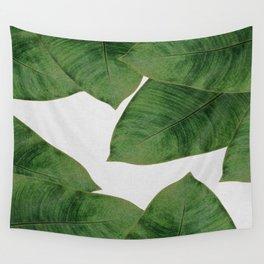 Banana Leaf II Wall Tapestry