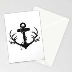 Antlered Anchor Stationery Cards