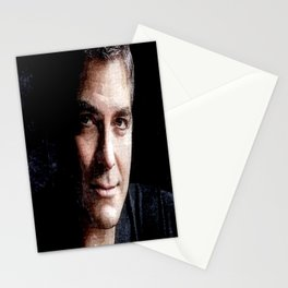 George Clooney Stationery Cards