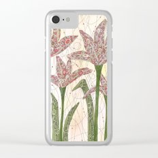 Coming Alive Clear iPhone Case