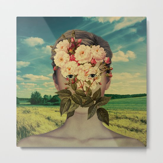 A Flower Girl 2 Metal Print