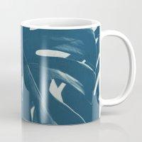 Blue Monstera #2 Mug