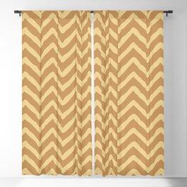 Chevron Pattern 125 Blackout Curtain