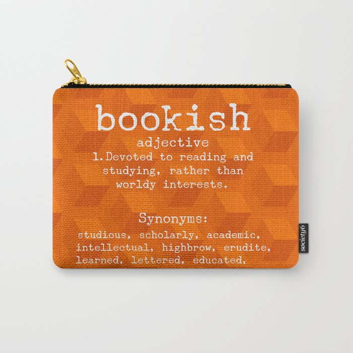 Bookish Carry-All Pouch