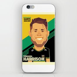 Teimana Harrison - Northampton Saints iPhone Skin