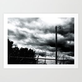 Detroit photo Art Print