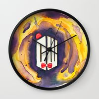 doctor who Wall Clocks featuring Doctor Who by foreverwars