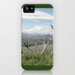 Alaska Mt. Denali iPhone Case