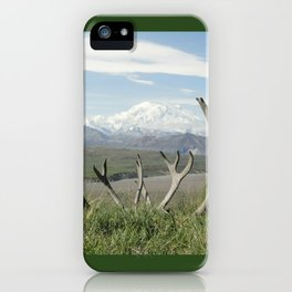 Alaska Mt. Denali iPhone Case