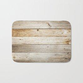 Vintage Wood Bath Mat