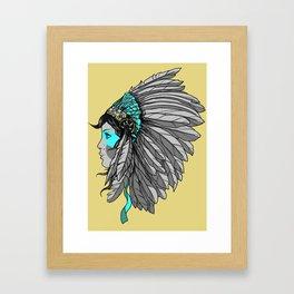 Warrior 4 - Alternative colorway Framed Art Print