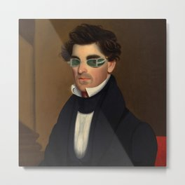 Nathaniel Olds by Jeptha Wade Metal Print