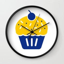 Cupcake KD Troll Wall Clock