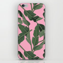 Tropical '17 - Forest [Banana Leaves] iPhone Skin