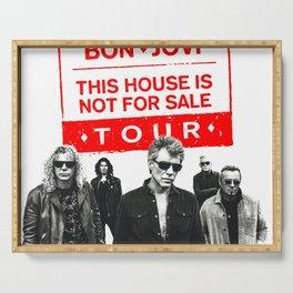 BON JOVI NOT FOR SALE TOUR 2018 CUPU Serving Tray