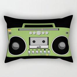 Retro Ghetto Blaster Rectangular Pillow