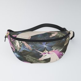 Unicorns and Flowers Fanny Pack