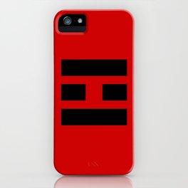 I Ching Yi jing - symbol of 離Lí iPhone Case