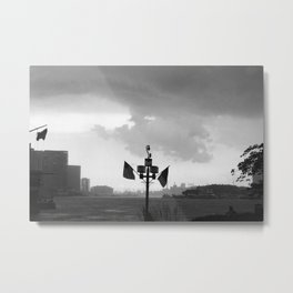storm rolling out Metal Print