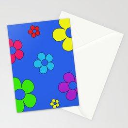Flashback Blue Stationery Cards