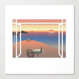 WINDOWS 003: THE COAST Canvas Print