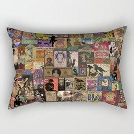Rock n' roll stories II Rectangular Pillow