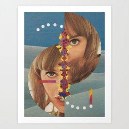 Slit-Screen Art Print